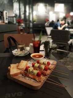 """Chicken Satay"", Greyhound Cafe, Jakarta"
