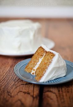 This amazing carrot cake recipe is a keeper for sure! Top with a nice cream cheese frosting and you are golden!