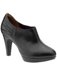 Indigo by Clarks Wessex Azure | Piperlime, black ankle booties that are comfortable