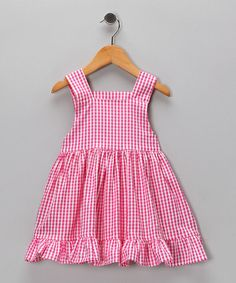 Take a look at this Ginger Ruffle Dress - Infant, Toddler & Girls by Lil'Daisies on #zulily today! Sweet!
