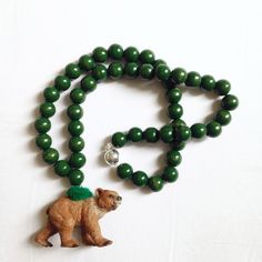 Pirates & Ponies Bear Necklace