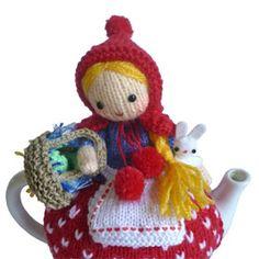 Red Riding Hood Tea Cosy Knitting Pattern   Flickr - Photo Sharing!