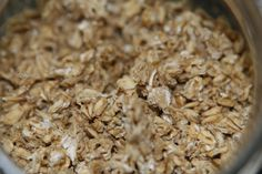 Soaked and dehydrated oatmeal