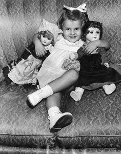 She's Danielle Giesele, French Orphan Here for Adoption - she was adopted by Mr and Mrs Louis Minkin of Los Angeles. photo dated - October 22, 1947