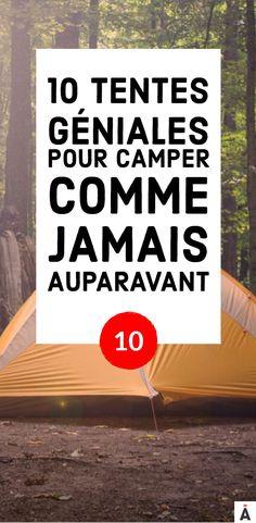 10 tentes géniales pour camper confortablement à la belle étoile #Tente #Camping #Montagne #Été #Camper #tentecamping #camperentente #belleétoile #Van #Toutplaquer #Forêt Camper, Outside Games, Parenting Teenagers, Vans, Activities, Top, Travel, Coleman Tent, Tents