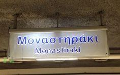 Monastiraki Station Athens Metro, Metro Station, Athens Greece