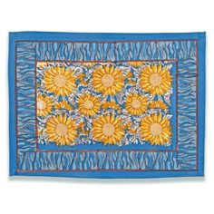 Add a splash of color to your dining experience with these attractive and stylish placemats. Featuring a vibrant design, this set of placemats is sure to attract some attention from your friends and guests.