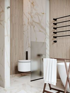 10 of the Most Exciting Bathroom Design Trends for 2019 New Bathroom Designs, Bathroom Trends, Modern Bathroom Design, Bathroom Interior Design, Bathroom Renovations, Bathroom Ideas, Bathroom Storage, Bathroom Organization, Toilet And Bathroom Design