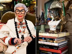 Inside Iris Apfel's Idiosyncratic, Antiques-Filled NYC Pad