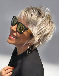 Latest Short Hairstyles, Cute Hairstyles For Short Hair, Girl Haircuts, Hairstyles Haircuts, Haircut Styles For Girls, Short Haircut Styles, Short Straight Hair, Short Hair Cuts, Unique Hair Cuts