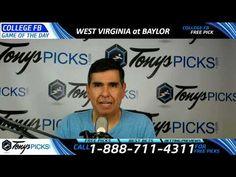 West Virginia Mountaineers vs. Baylor Bears Free NCAA Football Picks and...