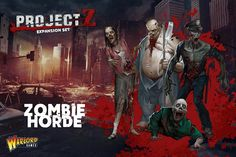 The 'Zombie Horde' expansion set contains 23 Zombies – each one completely individual - with lots of extras to customise the models. This expansion also includes game cards unique to this expansion set.