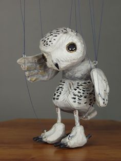 Owl string Puppet