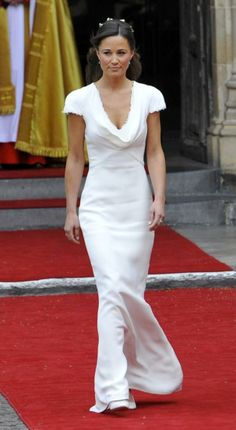 Pippa Middleton's Dress. I still think this is the most stunning gown.
