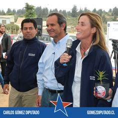 En Viña del Mar y Concón, Carlos Gómez Diputado y Andrés Allamand Presidente.