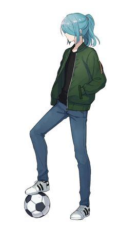 Boys Blue Hair, Blue Hair Anime Boy, Anime Long Hair, Manga Hair, Cute Anime Guys, Cute Anime Couples, Anime Oc, Kawaii Anime, Nathan Swift