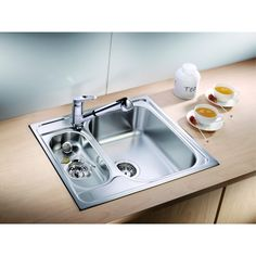blancotipo kitchen sink - Compare Price Before You Buy Leroy Merlin, Kitchen Sink, Home Decor, Kitchen Ideas, Dreams, Kitchens, White People, Room Decor, Home Interior Design