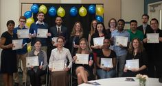 Grand Rapids Community College's Phi Theta Kappa chapter inducted 21 new members in spring 2017.