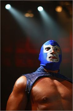 Lucha Libre... no that's not me...maybe someone photoshopped his head on my body...anything's possible