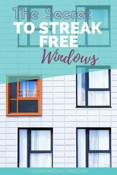 Want Streak Free Windows: Use Vinegar To Clean Them Bedroom Cleaning, Clean Bedroom, Bathroom Cleaning Hacks, Cleaning Spray, Diy Bedroom, Diy Cleaning Products, Cleaning Tips, Cleaning Outside Windows, Window Cleaning Tools