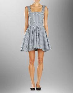 d&g checkered dress