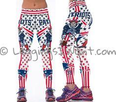 New England Patriots Leggings