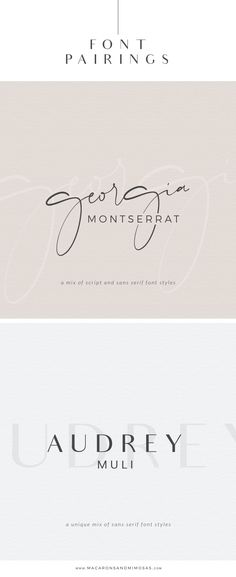 Choosing the proper font combination will give you a luxurious, modern, traditional, or feminine feel. Montserrat, one of my favorite san serif fonts. Graphic Design Fonts, Web Design, Design Posters, Font Logo Design, Luxury Graphic Design, Graphic Design Invitation, Creative Typography Design, Minimalist Graphic Design, Type Posters
