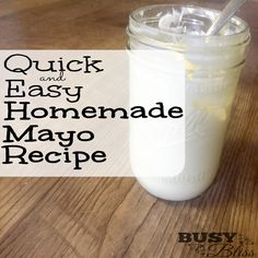 Who knew homemade mayo was so simple!? Paleo, low carb, keto, whole30 friendly