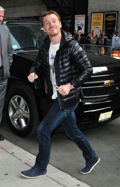 Fassy showing off his best smile in NYC. Got to love him!