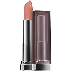 MaybellineColor Sensational Creamy Matte Lip Color in Daringly Nude, Touch of Spice, and Divine Wine.