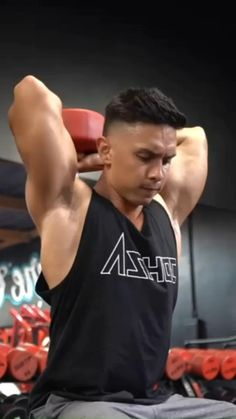 Gym Workout Chart, Full Body Hiit Workout, Gym Workout Videos, Weight Training Workouts, Gym Workout For Beginners, Dumbbell Workout, Gym Workouts, Gladiator Workout, Shoulder Workout