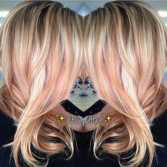 Rose gold blonde #Regrann from @fanola_usa - • Blonde • @p… | Flickr