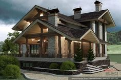 Дом в стиле шале — проект от архитектора Алексея Сухова: