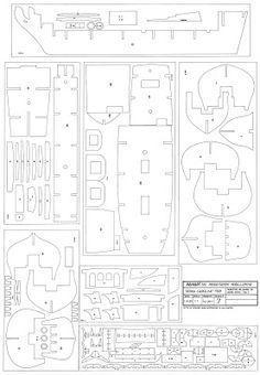 Plan pour construire une maquette de bateau en bois for Piani di costruzione di cottage gratuiti