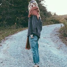 This photo shows you how vintage flannel shirts can be worn-To purchase vintage flannels go to my Etsy store - VolkmarsGeneralStore https://www.etsy.com/shop/VolkmarsGeneralStore
