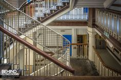 The Royal London Hospital, Whitechapel, UK Nursing Pictures, Dating In London, East End London, Vintage Nurse, Interesting History, Nursing Students, Closed Doors, Prison, Stairs