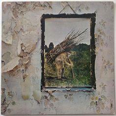 Led Zeppelin - IV LP Vinyl Record Album, Atlantic - SD 7208, Classic Rock, 1971, Original Pressing