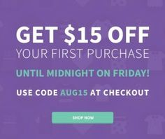 $15/$15 on Your First Purchase at ThredUP – FREE Clothes!!