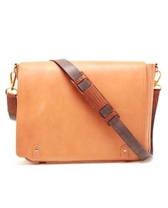 Browns fashion & designer clothes & clothing | MAISON MARTIN MARGIELA | REPLICA Leather Messenger Bag