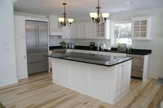 Painted Bead Board Kitchen