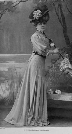 Les Modes, 1907/3 - Robe de promenade