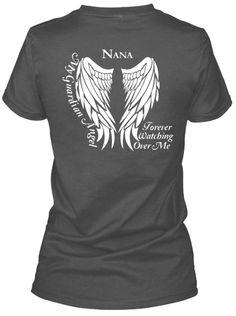 Nana Guardian Angel Lady T-Shirt