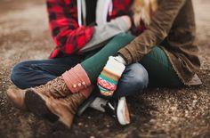 Zakochani z Carte d'Or - jesienną porą