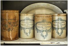 Country Life, Country French, Crock, Marmalade, Blue And White, Mustard, Cheese, Toile, Mustard Plant