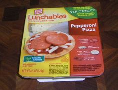 Lunchables - When someone in your class had one of these…they immediately became your best friend.
