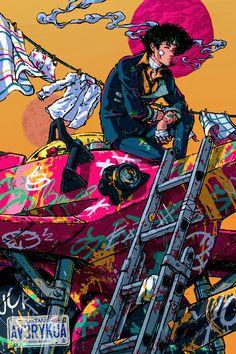 Spike Spiegel – Cowboy Bebop GG ^^ / – Best Art images in 2019 Cowboy Bebop Wallpapers, Character Art, Anime Wall Art, Cyberpunk Character, Cyberpunk Art, Art, Anime, Anime Characters, Aesthetic Anime