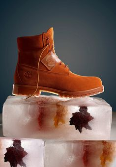 """Timberland: the """"Original Yellow Boot"""" has long been a popular American icon, the classic look has been copied by many, but never really duplicated. Timberland Boots Style, Timberland Waterproof Boots, Timberland Outfits, Timberland 6, Fashion Boots, Sneakers Fashion, Men's Fashion, Timbaland Boots, Shoes Wallpaper"""