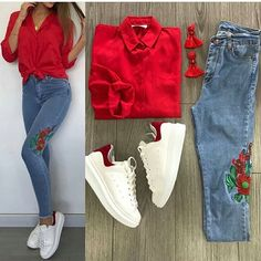 Dress Designs For You Mode Outfits, Jean Outfits, Stylish Outfits, Fall Outfits, Summer Outfits, Fashion Outfits, Womens Fashion, Fashion Trends, Terno Casual