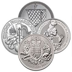 Money Metals' random design one-ounce platinum coins are the most economical way to buy platinum coins. Buy Platinum, Us Silver Coins, Mint Gold, Coin Collecting, Precious Metals, Money, Personalized Items, Random, Design