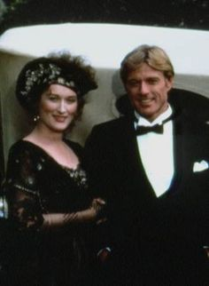 Milena Canonero, Out of Africa~ Meryl Streep and Robert Redford Beau Film, Robert Redford, Meryl Streep, Sundance Film Festival, Out Of Africa, Cinema, Portraits, Movie Costumes, Great Movies